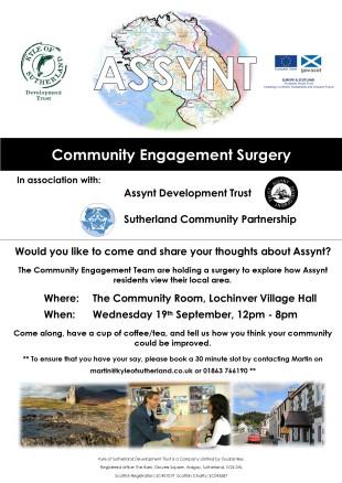Assynt Surgery Poster (1)