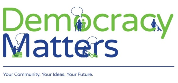 democ matters logo image