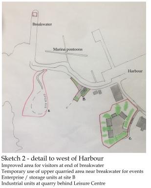 sketch 2 harbour detail