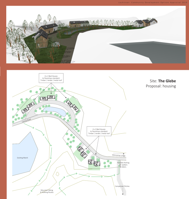 glebe image & map from final report