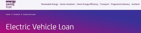 ecar loan scheme image