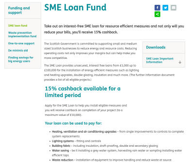 resource efficient scotland loan fund image